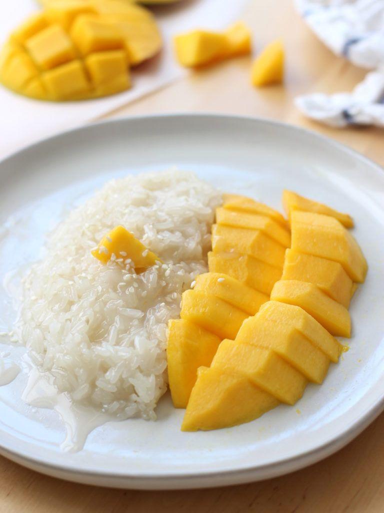Thai Mango Sweet Sticky Rice   Recipe   Sweet sticky rice ...