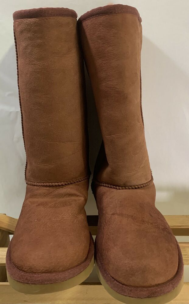 8d6fd87d79c Ugg 5815 classic tall women s u s size 7 rum fashion clothing shoes ...