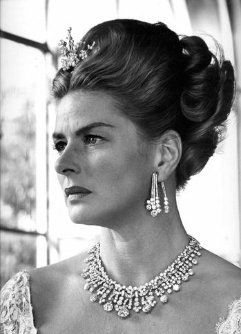 Ingrid Bergman wearing Bulgari jewels in the 1962 film The Visit