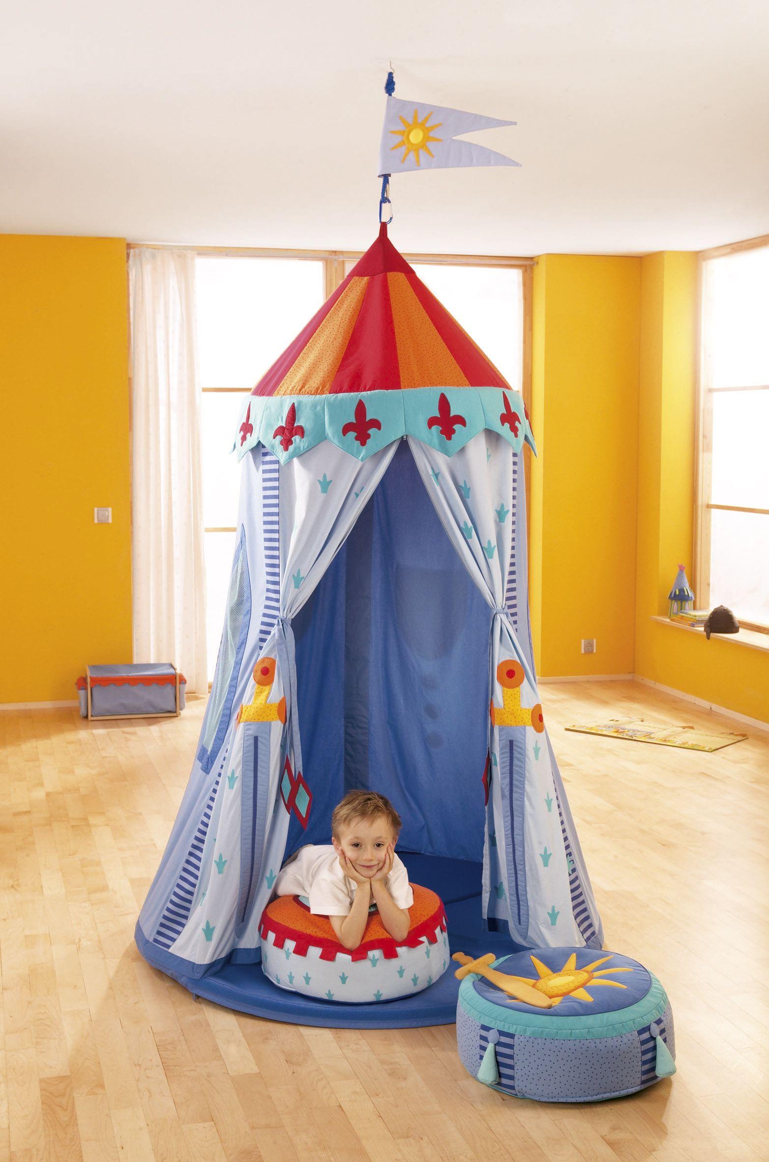 Kinderzimmer junge ritter  Hängezelt Ritterzelt | ritterzimmer | Pinterest | Ritter, Malen und ...