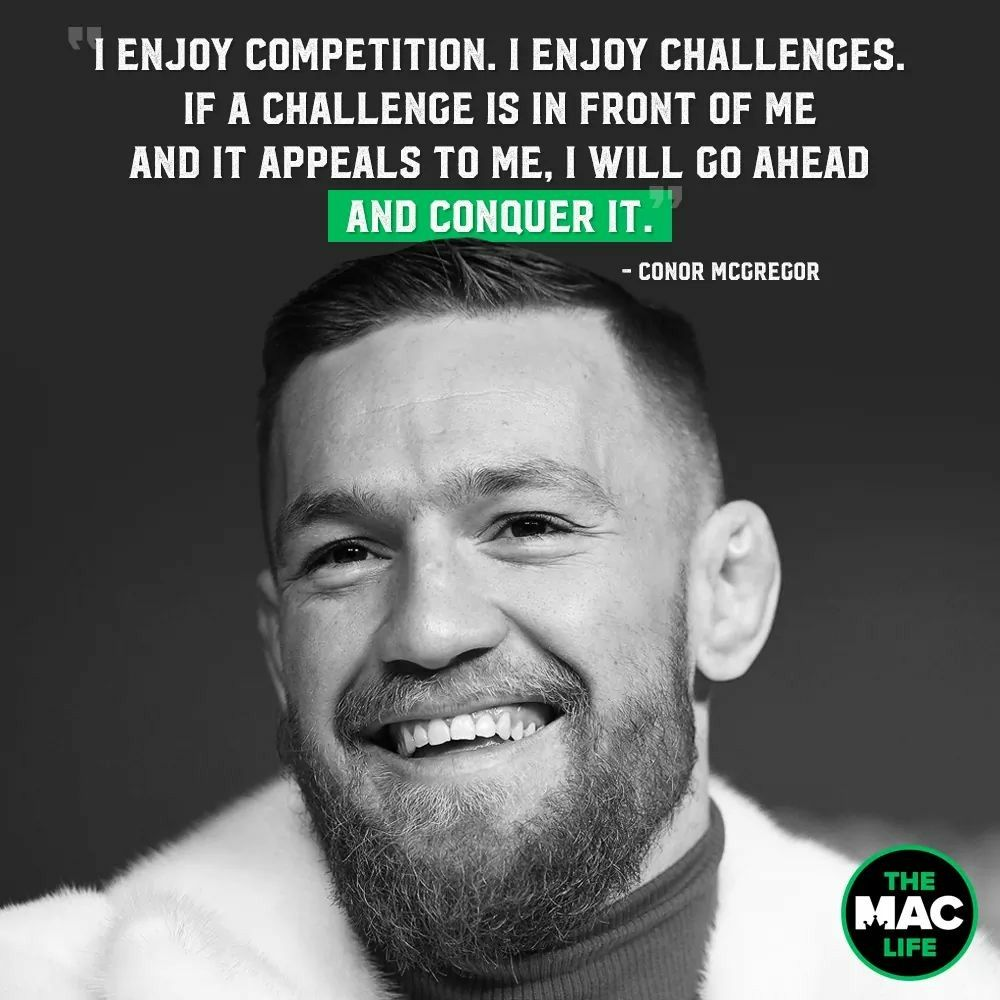 Conor Macgregor Conor Mcgregor Quotes Inspirational Quotes Motivation