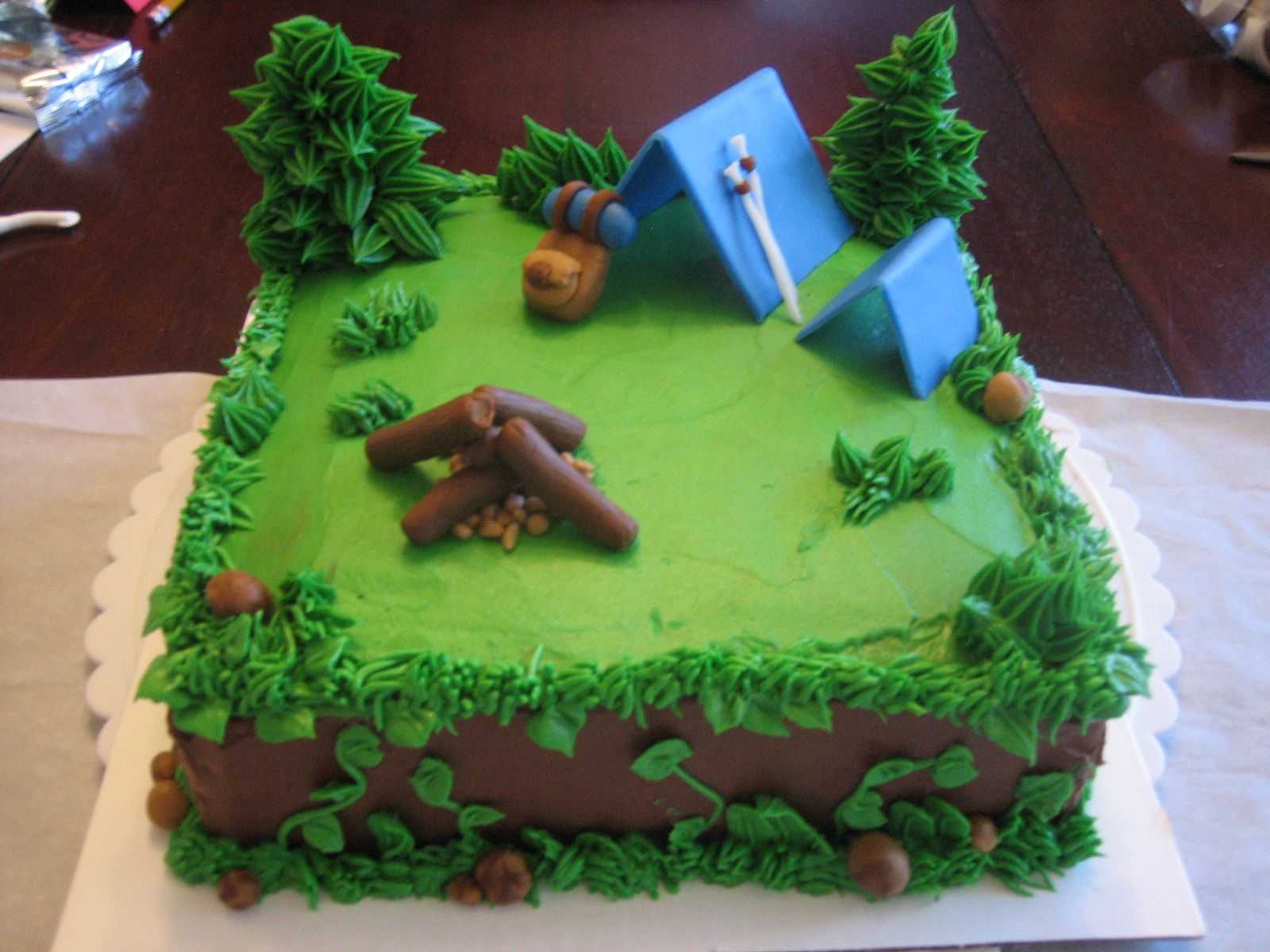 Cake Decorating Ideas For Boy Scouts : boy scout cupcake decorations sep jul wedding cake cakes ...