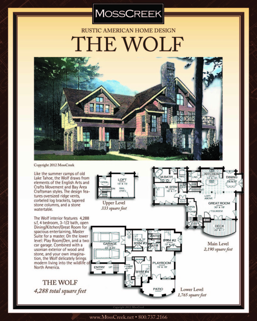 Mosscreek Luxury Log Homes Timber Frame Homes American Home Design Rustic House Plans Model House Plan