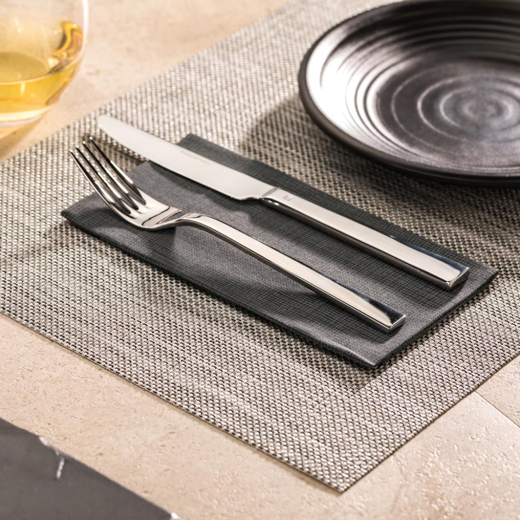 They say food only tastes as good as it looks, so we're going to leave these woven placemats right here to help you create the perfect setting for your food presentation #eatwithyoureyes