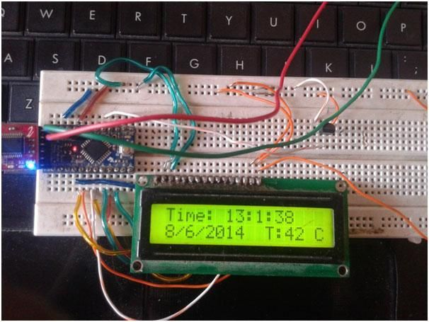 Real time clock is a digital clock which display real time