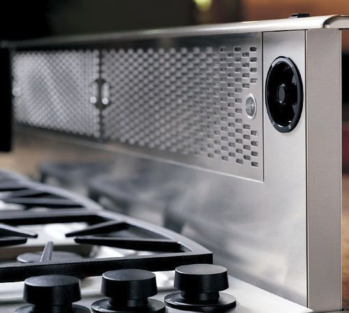 Pop Up Extractor Fan And Splash Back Major Kitchen Appliances