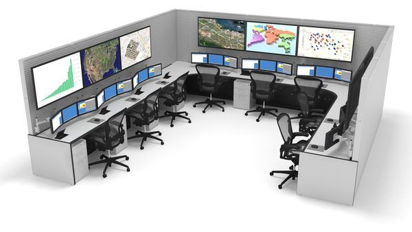 Command Center Furniture Design command consoles design | control room solutions | pinterest