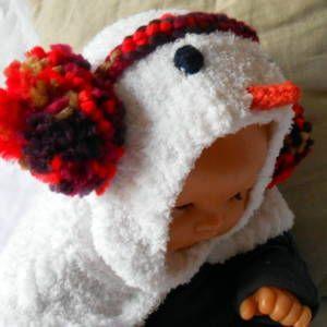 40efc9eb214a Cagoule bébé 0-3 mois décor