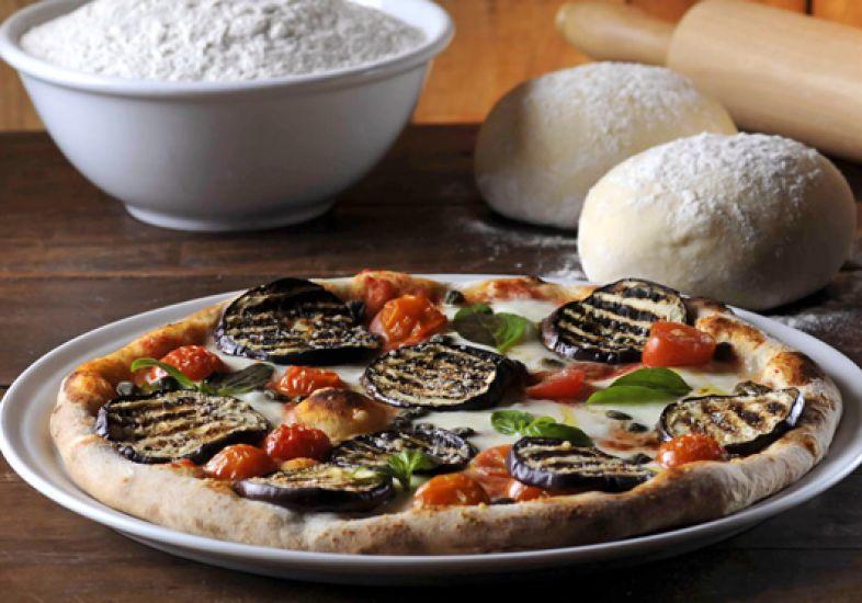 Photo of Pizza de berinjela