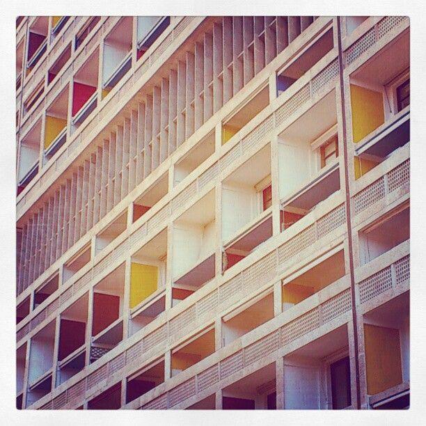 La cité radieuse, Le Corbusier, Marseille. - @ma_udh | Webstagram