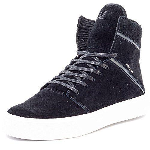 Supra Vaider, Sneakers Basses Homme, Bleu (Navy-White), 45 EU