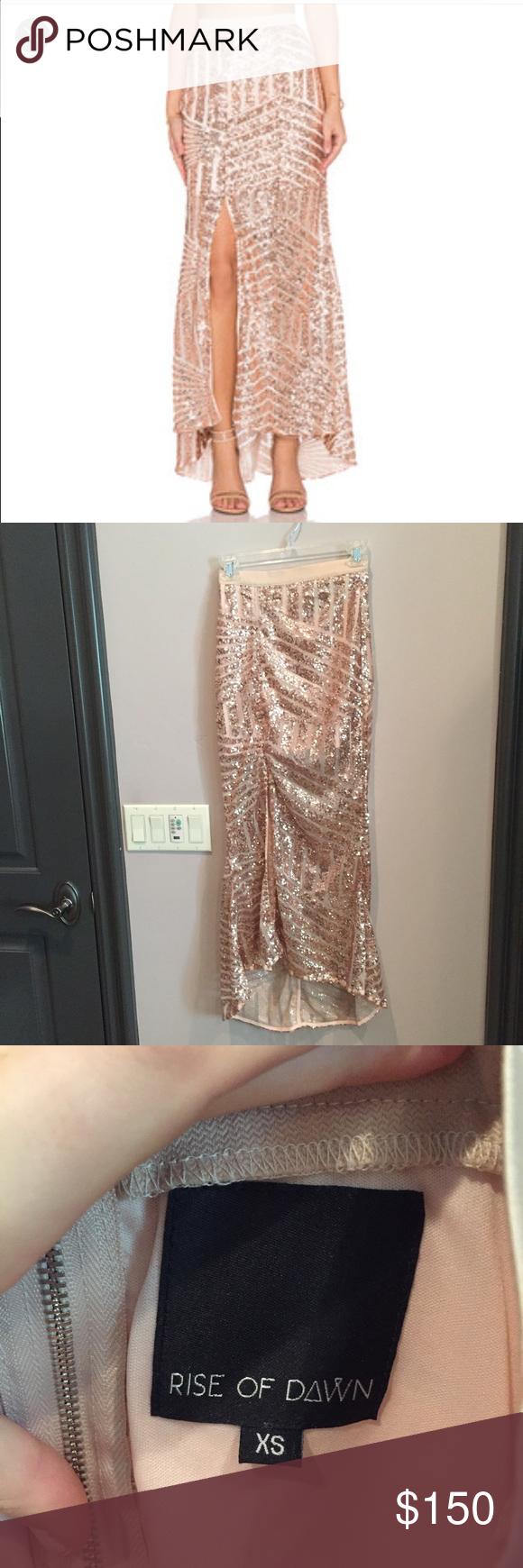 Tiger mist girl around town sequin skirt xs Rise of dawn/tiger mist. Brand new Tiger mist Skirts Maxi