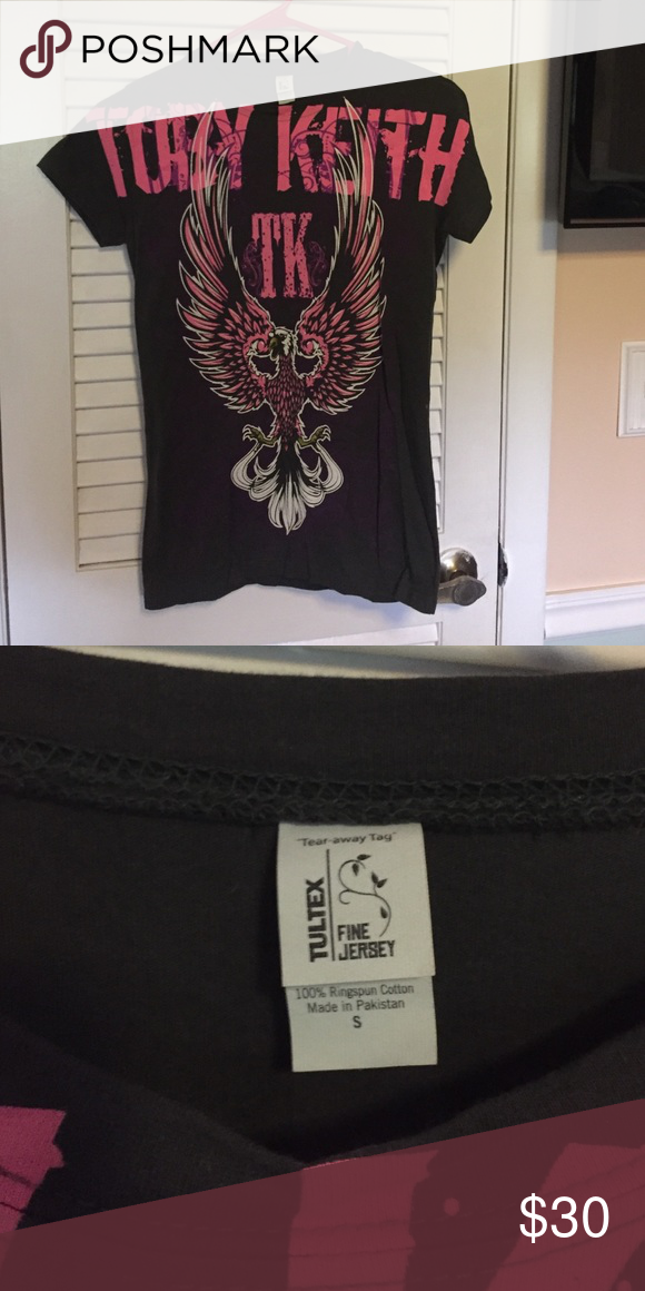 Toby Keith shirt Like new, smoke free home Tultex Tops Tees - Short Sleeve
