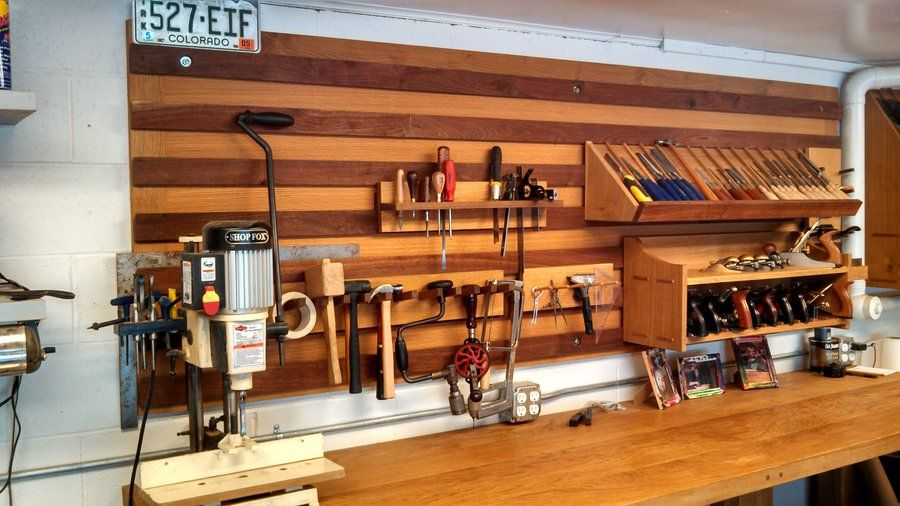 French Cleat System For My Shop.   By BigRedKnothead @ LumberJocks.com ~  Woodworking Community