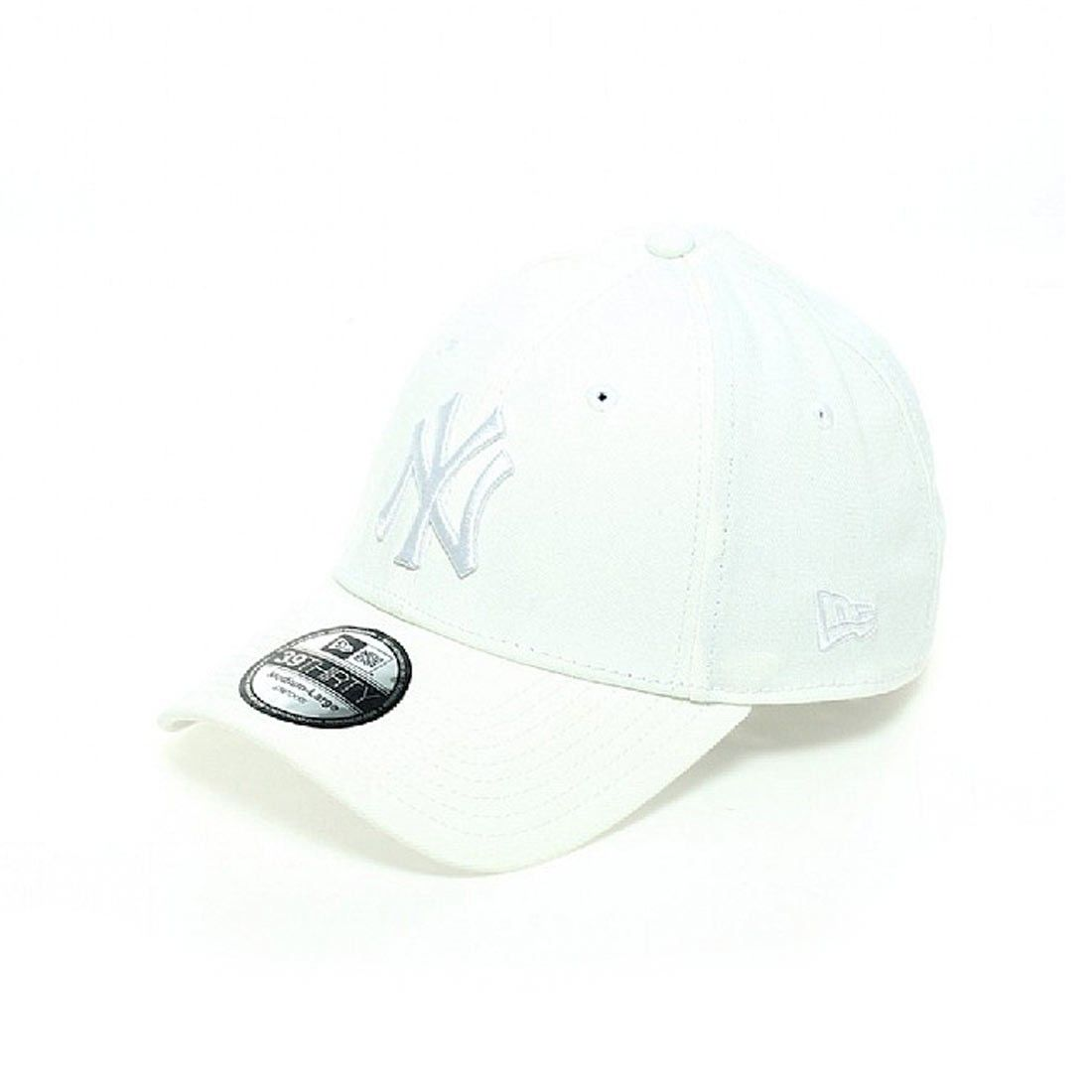 Gorra New Era Basic NY Yankees 39THIRTY League Basic Blanca  39b052aa453