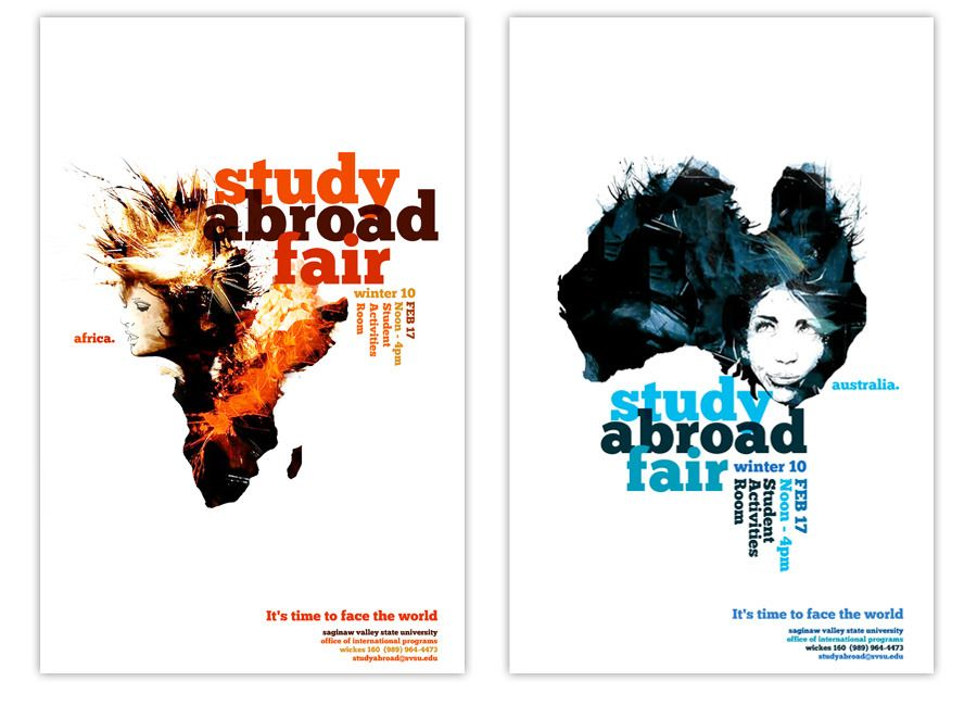 Study Abroad Fair Modern Colour Study Abroad Study Abroad