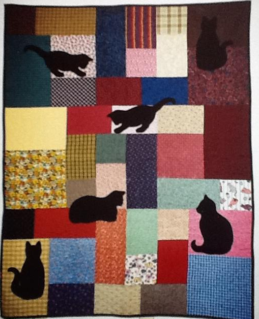 and another cat quilt
