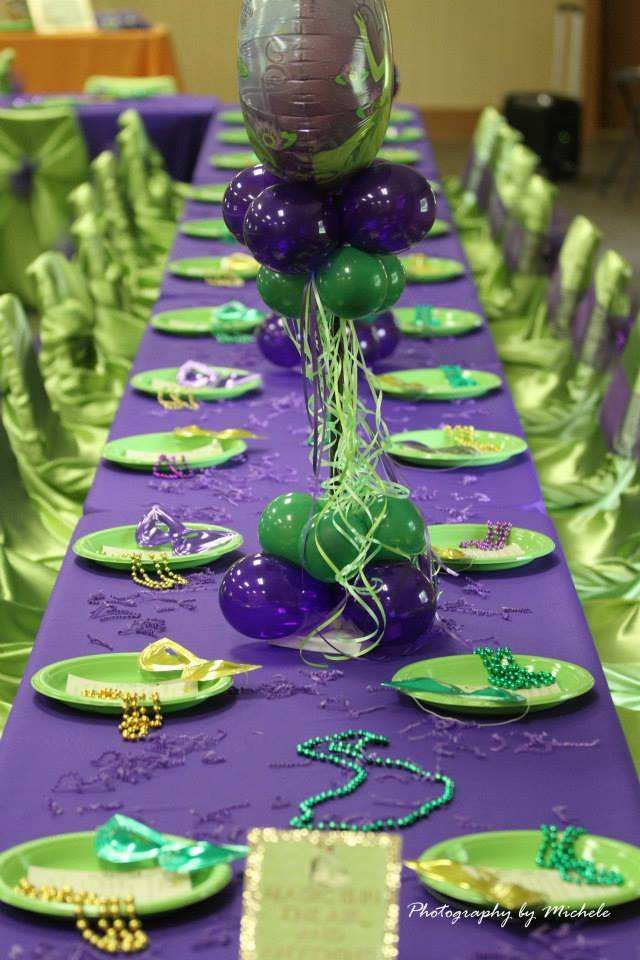 superior Princess And The Frog Birthday Party Decorations Part - 20: PRINCESS SKYLARu0027S 2ND MARDI GRAS CELEBRATION! | CatchMyParty.com