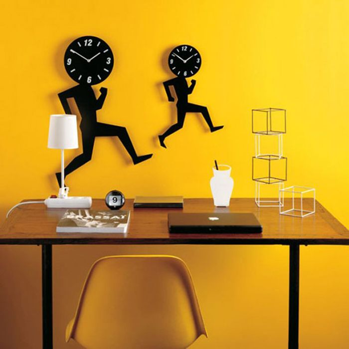 25 original wall clock that will decorate any interior. More information: http://wonderdump.com/25-original-wall-clock-that-will-decorate-any-interior/