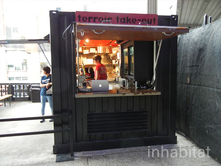 Photos Terroir Shipping Container Wine Bar Is The High Line Park S Only Sit Down Restaurant Container Bar Container Restaurant Container Cafe