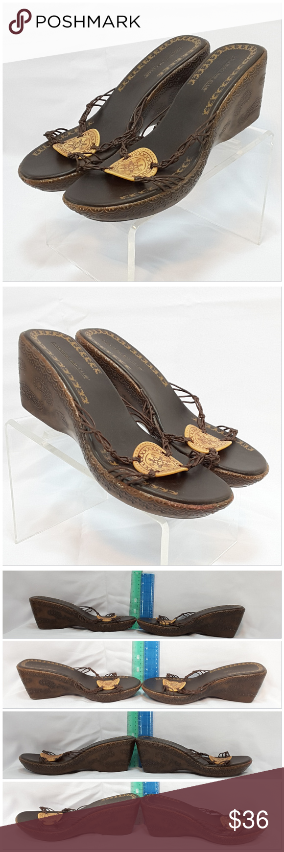 MONTEGO BAY CLUB, Wedge Sandals, size