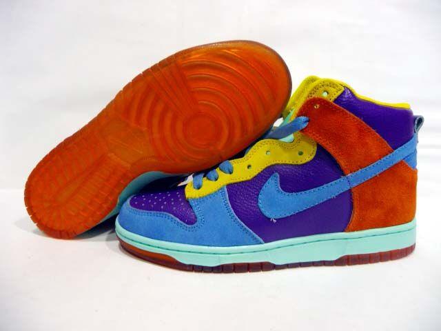 best sneakers e7011 b726b Nike Dunk High 6.0 Pure Purple Bright Multi Colored
