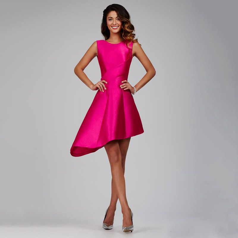 whatgoesgoodwith.com bright pink cocktail dress (06) #cuteoutfits ...