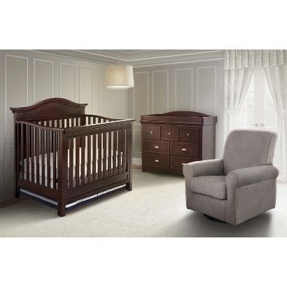 Simmons Kids Augusta Nursery Furniture Collection Espresso Target