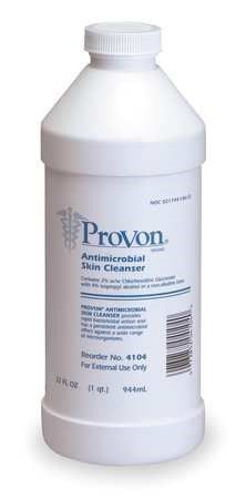 Provon 32 Oz Pleasant Antimicrobial Surgical Scrub 4104 12