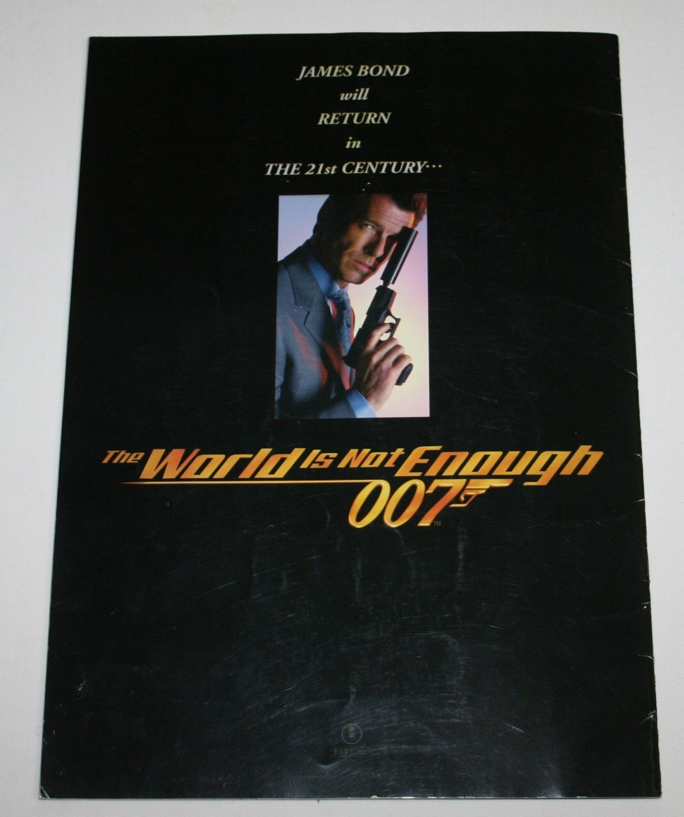 James Bond 007 The World Is Not Enough Movie Program Japan Pierce