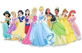 Resultado De Imagem Para Desenhos Ja Coloridos Princesas Disney