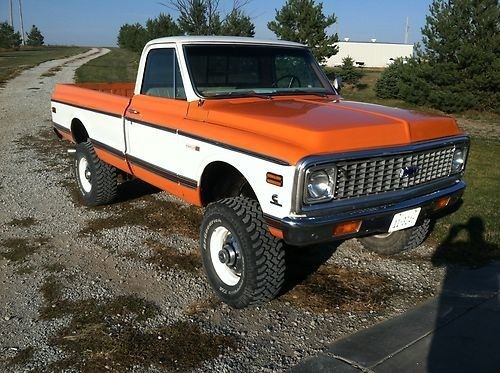 1972 Chevrolet Pickup Http Cashforcars Junkcars Net Kansas City