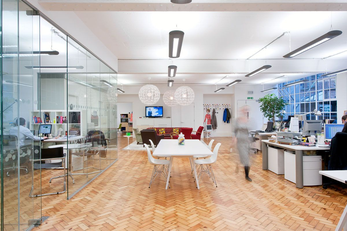 Office tour orchestra s london loft offices loft office for Loft office design ideas
