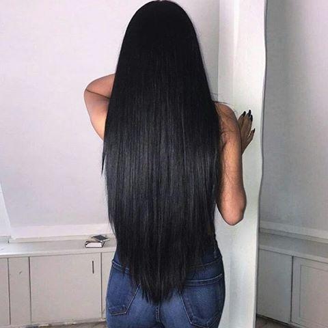 Hair goals #hair #hairgoals #black #tumblr #straight #blackhair ...