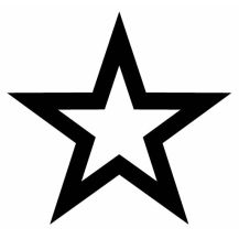 Hollywood Stern Vorlage Tattoo Tattoos Star Tattoos Und Star