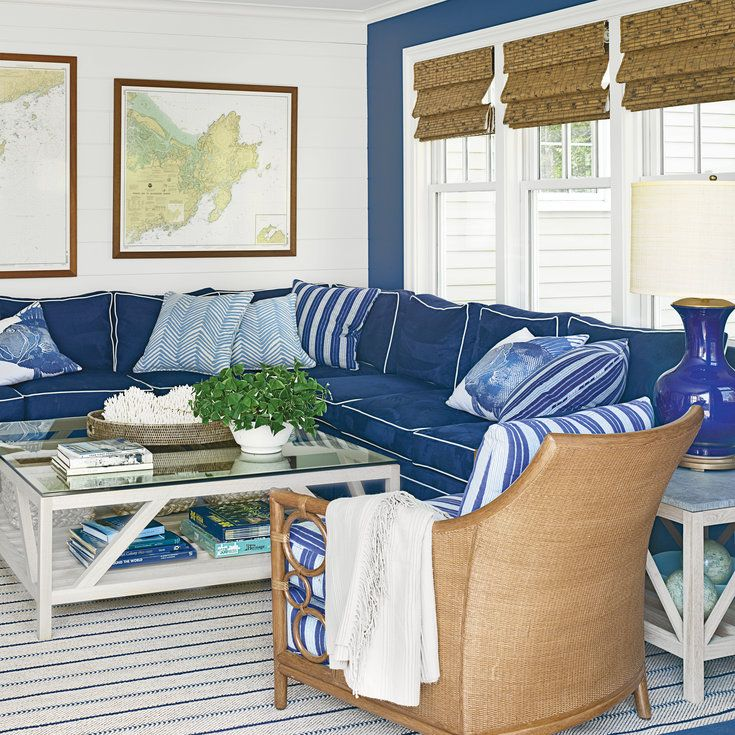 From Colorfully Modern To Tastefully Rustic, These Spaces Showcase The Best  Of Seaside Decor.
