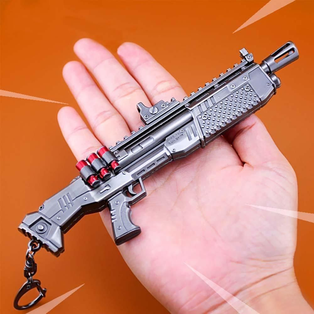 Game Fortnite Battle Royale Assault Rifle Rocket Weapon Keychain