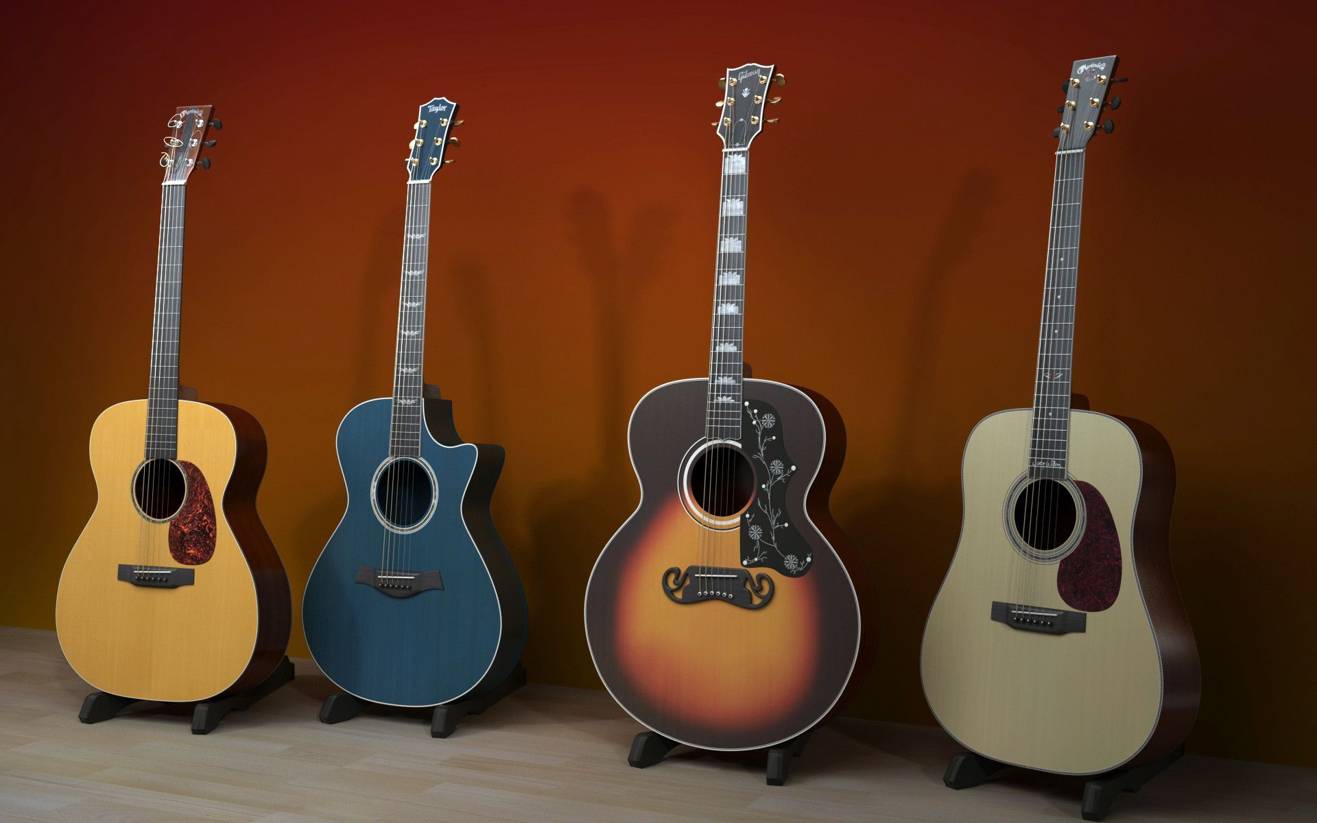 collection of cool guitar backgrounds on hdwallpapers 1920Ã 1200