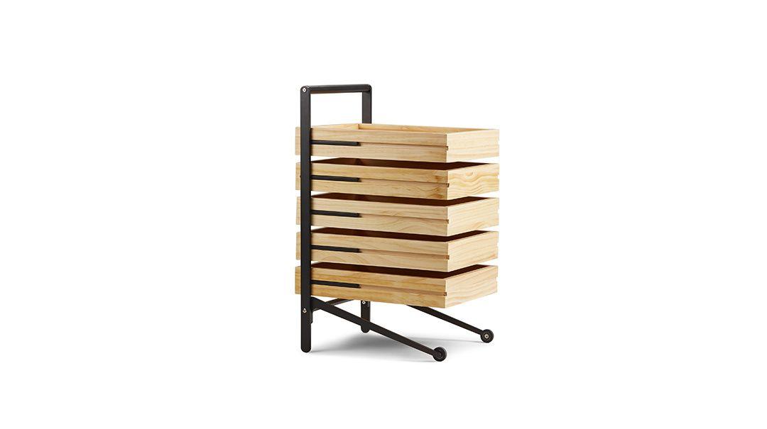 造作 京都手推柜 随身推移工作柜 漂亮严谨的收纳空间 contemporary furniture outdoor chairs wood
