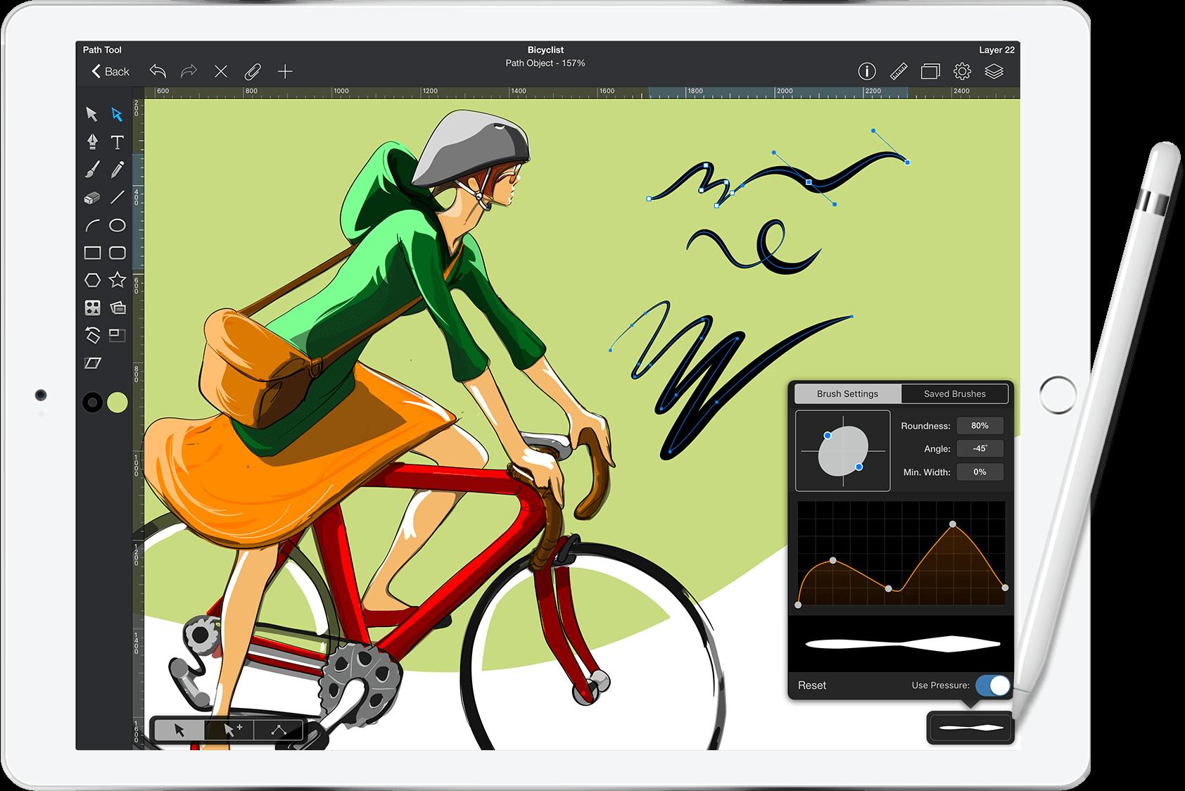 Graphic Ipad Pro Illustration And Graphic Design This App Looks Like A Good Alternative To Illustrator For The Ipad It Allows App Drawings Best Ipad Ipad,Bridal Lehenga Lehenga Blouse Designs Catalogue 2020