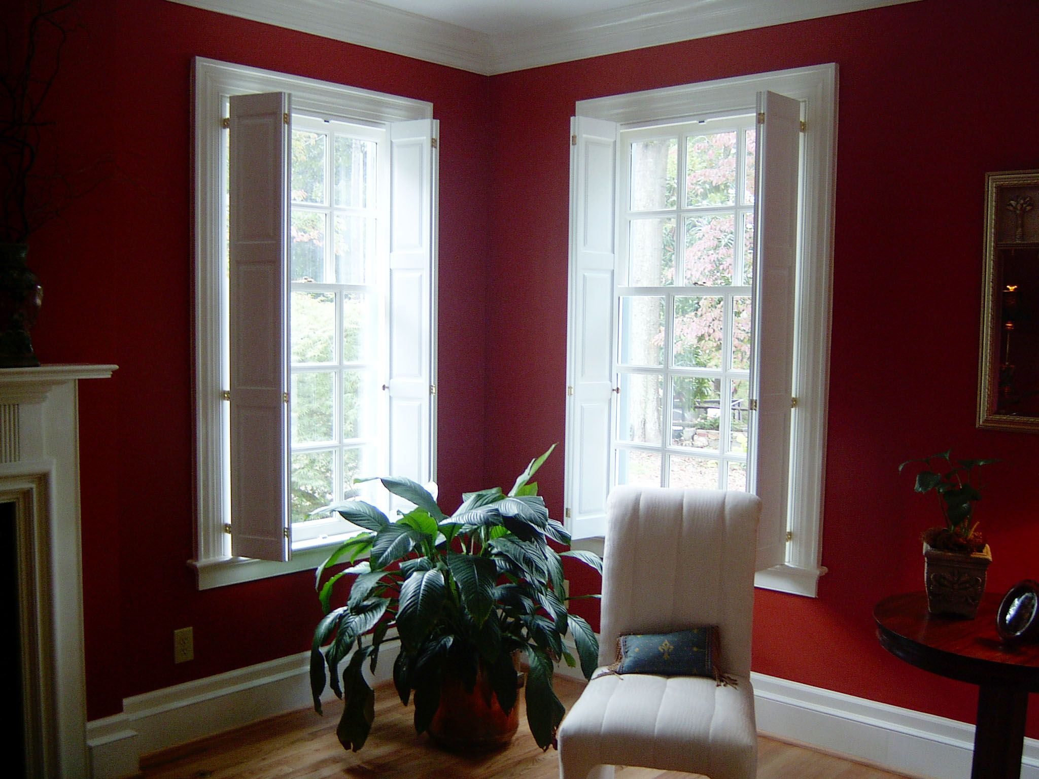 As unique as your home we offer raised panel shutters custom made