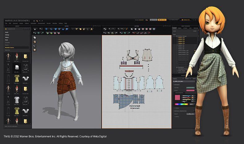 3dpowerstore Marvelous Designer 5 Von Clo Virtual Fashion Ksiazki