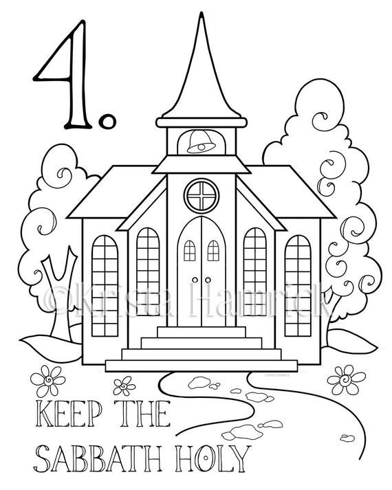 The Ten Commandments Memory Coloring Collection/ Includes ...