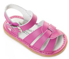 Wee Squeak Emma White Sandal Toddler Squeaky Shoe