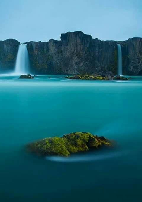 Cachoeira dos deuses, Islândia.