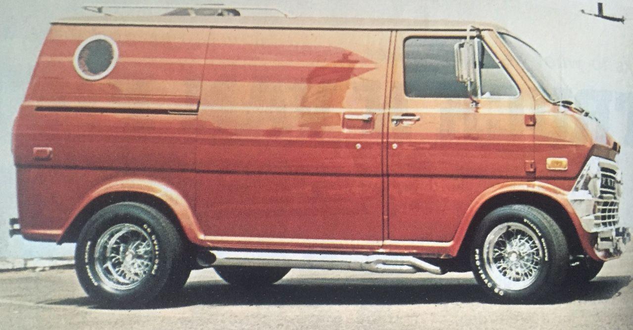 Custom 70 S Ford Van With Images Custom Vans Ford Custom Van