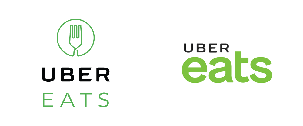 New Logo For Uber Eats