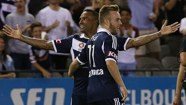 Archie Thompson was superb going forward for Melbourne Victory last weekend.