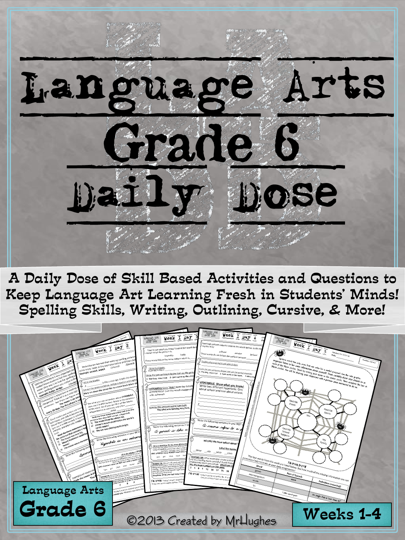 Language Arts Daily Dose Weeks 1 4