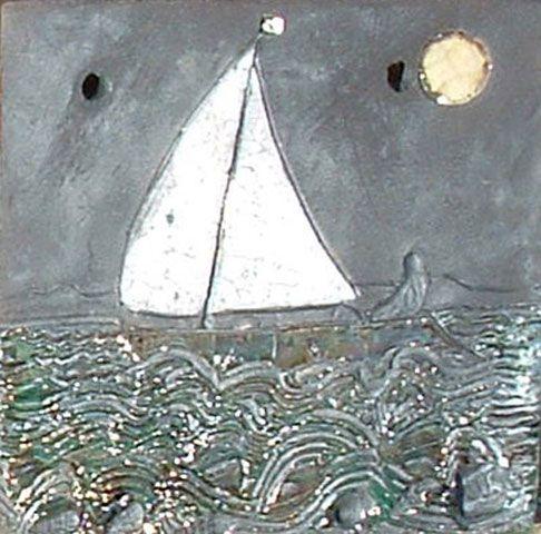 Jan Thompson Raku Tiles
